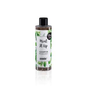 Anwen Szampon peelingujacy mint it up . Kosmetyki naturalne do wlosow UK Dunia Organic