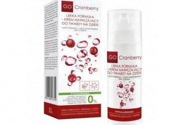 GoCranberry Lekka formuła – krem do twarzy 50ml