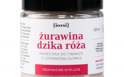 Iossi Maseczka żurawina dzika róża 120ml