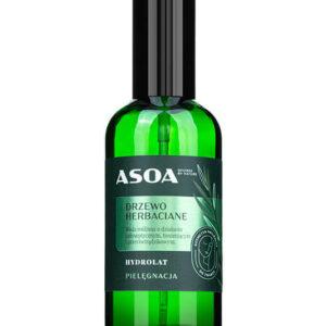 Asoa Hydrolat drzewo herbaciane. Kosmetyki naturalne i organiczne w UK Dunia Organic.