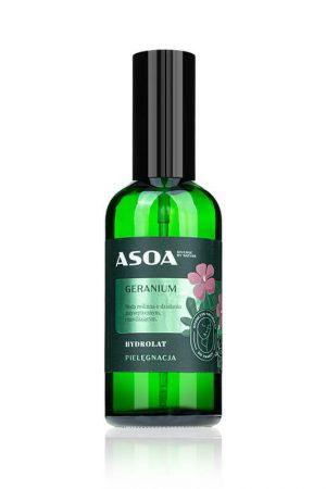 Asoa Hydrolat geranium. Kosmetyki naturalne i organiczne w UK Dunia Organic.