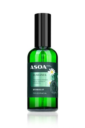 Asoa Hydrolat rumianek. Kosmetyki naturalne i organiczne w UK Dunia Organic.