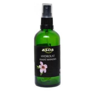 Asoa Hydrolat z kwiatu manuka 100ml. Kosmetyki naturalne i organiczne w UK Dunia Organic. (1)
