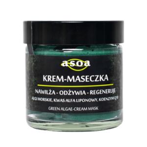 Asoa Krem - maseczka krem do twarzy . Kosmetyki naturlane i organiczne w UK Dunia Organic (1)