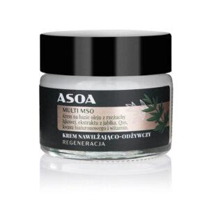 Asoa Multi MSO krem do twarzy MINI. Kosmetyki naturalne UK Dunia Organic