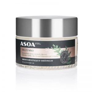 Asoa Multi MSO krem do twarzy. Kosmetyki naturalne UK Dunia Organic