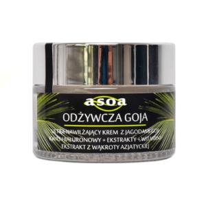 Asoa Odżywcza Goja krem do twarzy 50ml . Kosmetyki naturlane i organiczne w UK Dunia Organic (1)