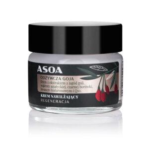 Asoa Odżywcza Goja krem do twarzy MINI. Kosmetyki naturalne UK Dunia Organic