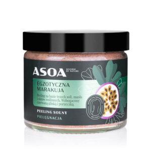 Asoa Peeling do ciała Egzotyczna marakuja. Kosmetyki naturalne UK Dunia Organic