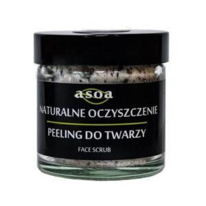 Asoa Peeling do twarzy - naturalne oczyszczenie . Kosmetyki naturlane i organiczne w UK Dunia Organic (1)