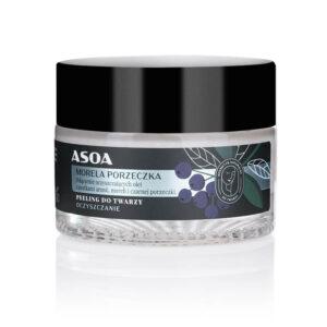 Asoa Peeling do twarzy. Kosmetyki naturalne i organiczne w UK Dunia Organic.