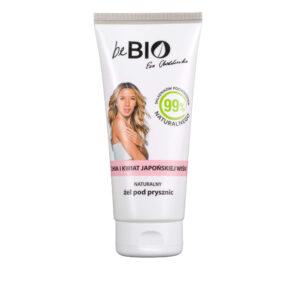 BeBio Naturalny Żel Pod Prysznic Chia i Kwiat Japońskiej Wiśni 200ml Chodakowska UK