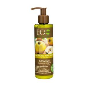 EcoLab Balsam do Włosów Przetłuszczających się. Eco Laboratorie Kosmetyki naturalne UK Dunia Organic.