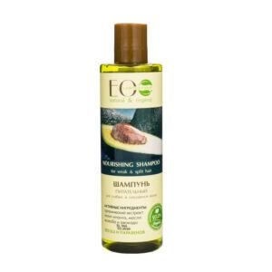 EcoLab Odżywczy szampon do włosów osłabionych 250ml. Kosmetyki naturalne i organiczne UK Dunia Organic