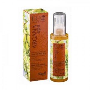 EcoLab Olej do włosów farbowanych i zniszczonych 100ml. Kosmetyki naturalne do włosów UK Dunia Organic.