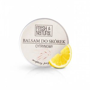 Fresh&Natural Balsam do skórek i paznocki . Kosmetyki naturalne UK Dunia Organic