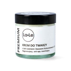 La-Le Krem żeń-szeń z kwasem hialuronowym. Kosmetyki naturalne i organiczne UK Dunia Organic