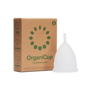 Organic Cup Size B Kubeczek Menstruacyjny . Kosmetyki naturalne UK Dunia Organic.