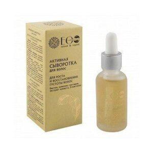 Ecolab Aktywne Serum do Włosów, Wzrost i Zagęszczenie. Naturalne kosmetyki do włosów UK Dunia Organic