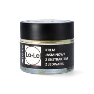 La-Le Krem jaśminowy z ekstraktem z jedwabiu 60ml. Kosmetyki naturalne i organiczne UK Dunia Organic.