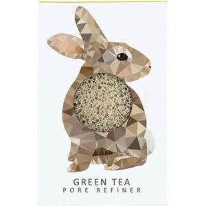 The Konjac Company Gabka konjac krolik zielona herbata . Kosmetyki naturalne w UK Dunia Organic