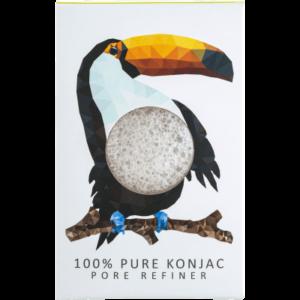 The Konjac Company Gabka konjac tukan biala . Kosmetyki naturalne w UK Dunia Organic (2)