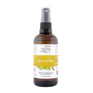 Your Natural Side Woda Champaka. Kosmetyki naturalne w UK Dunia Organic