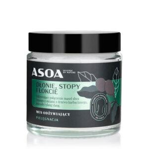 Asoa Ładne stópki. Kosmetyki naturalne UK Dunia Organic