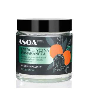 Asoa Likwidator pomarańcza masło do ciała. Kosmetyki naturalne UK Dunia Organic