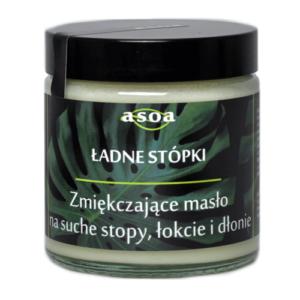 Asoa Masło zmiękczające do stóp Ładne Stópki. Kosmetyki naturalne i organiczne w UK Dunia Organic.