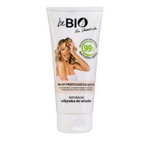 BeBio Naturalna Odżywka do włosów przetłuszczających się 300ml Dunia Organic UK Ewa Chodakowska