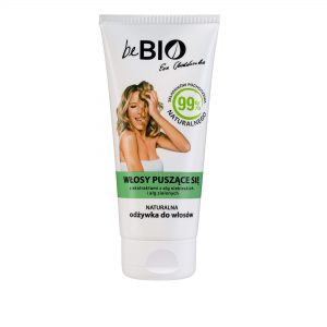 BeBio Naturalna Odżywka do włosów puszących się 200ml Dunia Organic UK Ewa Chodakowska