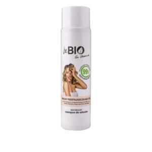 BeBio Naturalny Szampon do włosów przetłuszczających się 300ml Dunia Organic UK Ewa Chodakowska