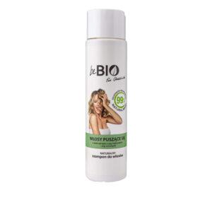 BeBio Naturalny Szampon do włosów puszących się 300ml Dunia Organic UK Ewa Chodakowska