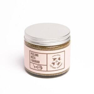 Cztery szpaki Peeling do ciała róża i baobab . Naturalne kosmetyki w uk dunia organic