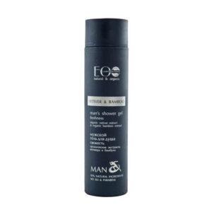 EcoLab Odświeżający żel pod prysznic dla mężczyzn. Naturalne kosmetyki UK Dunia Organic