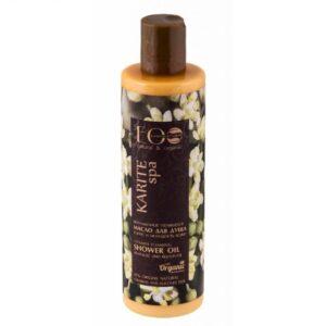 Ecolab Witaminizowany olejek pod prysznic KARITE SPA. Naturalne kosmetyki do ciała UK Dunia Organic