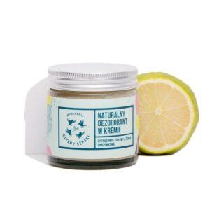 Mydlarnia Cztery szpaki Dezodorant w kremie cytrusowo-ziołowy. Naturalne kosmetyki UK Dunia Organic