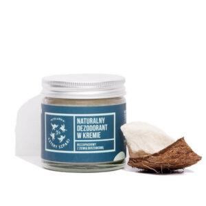 Mydlarnia cztery Szpaki Dezodorant w kremie bezzapachowy. Naturalne kosmetyki UK Dunia Organic