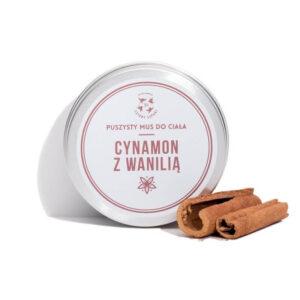 Mydlarnia cztery Szpaki Mus do ciała Cynamon i Wanilia. Naturalne kosmetyki UK Dunia Organic