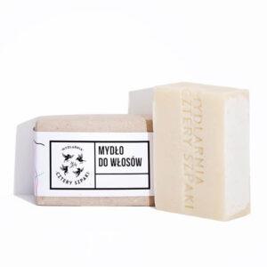 Mydlarnia cztery Szpaki Mydło do włosów. Naturalne kosmetyki UK Dunia Organic
