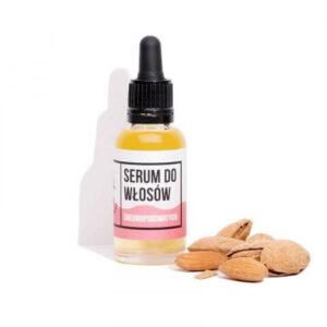 Mydlarnia cztery Szpaki Serum do włosów średnioporowatych Naturalne kosmetyki UK Dunia Organic
