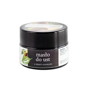 Your Natural Side Masło do ust z olejem awokado 15ml. Naturalne kosmetyki w UK Dunia Organic