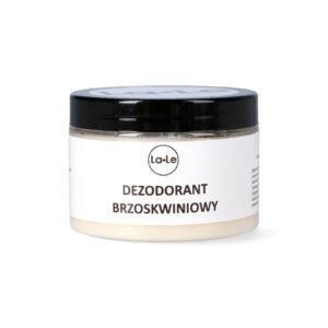 La-Le Dezodorant w kremie brzoskwiniowy 150ml. Kosmetyki naturalne UK Dunia Organic.
