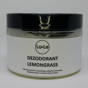 La-Le Dezodorant w kremie trawa cytrynowa 150ml. Kosmetyki naturalne UK Dunia Organic.