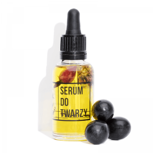 Mydlarnia cztery Serum do twarzy. Naturalne kosmetyki UK Dunia Organic