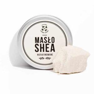 Mydlarnia cztery Szpaki Masło shea nierafinowane. Naturalne kosmetyki UK Dunia Organic