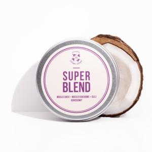 Mydlarnia cztery Szpaki Super blend masło do ciała. Naturalne kosmetyki UK Dunia Organic