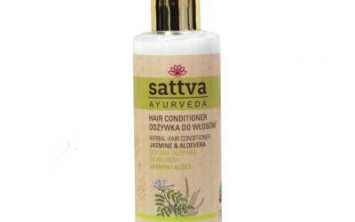 Sattva Ayurveda Odżywka do włosów Jaśmin i Aloes 210 ml