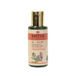 Sattva Ayurveda olejek Brahmi Amla Naturalne kosmetyki do włosów Sattva UK Dunia Organic